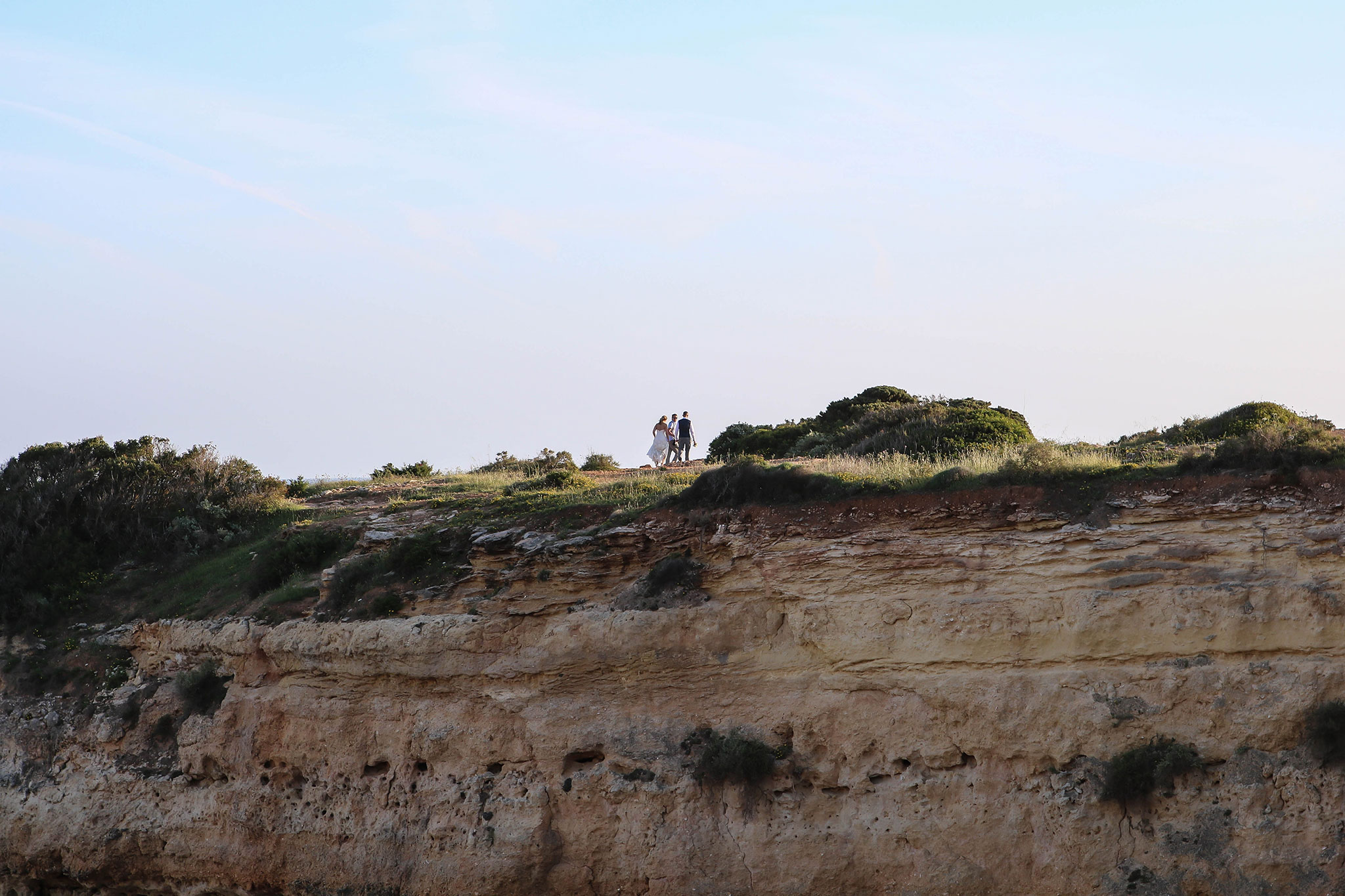 Praias de Albandeira e Estaquinha